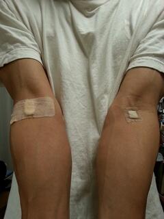 献血だっちゅーの