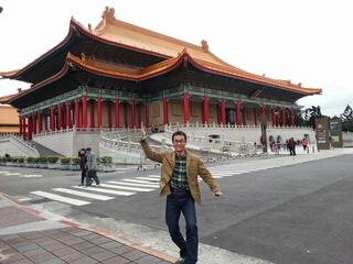 台北に来ました