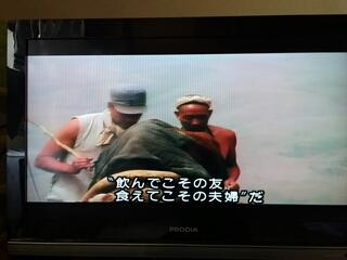 中国映画「黄色い大地」より