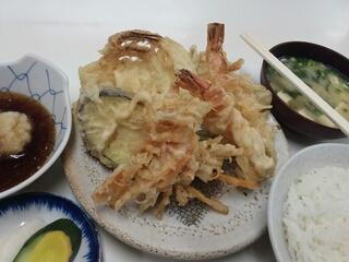 天ぷら9品830円