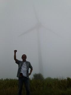 設楽町の風車