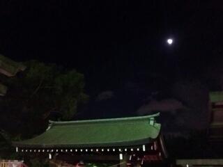 生國魂の夜